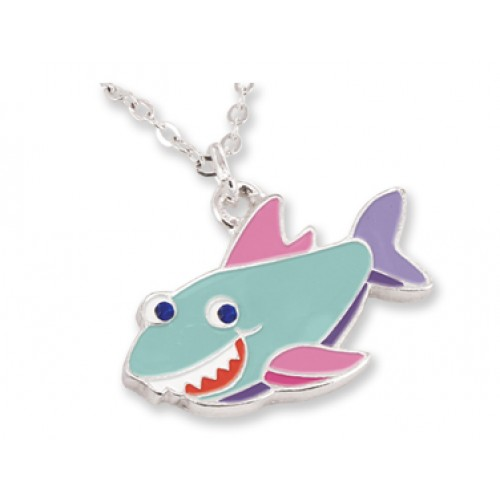 Pendant with matching gift box shark pendant with matching gift box aloadofball Gallery
